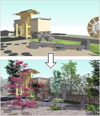 ガーデン素材集イメージ